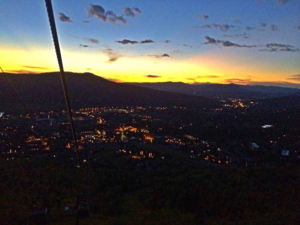 Sunsetting on Steamboat Springs