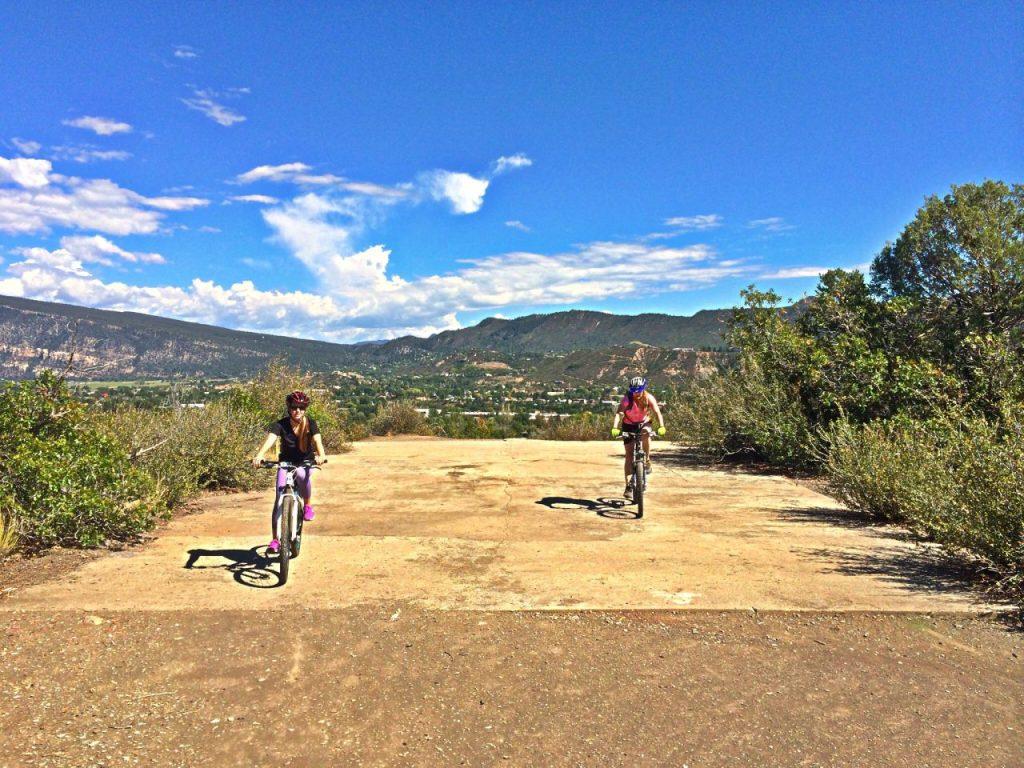 Riding the Heli Pad