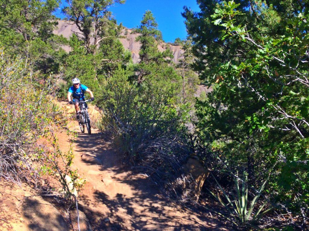Coming down Spirit Trail